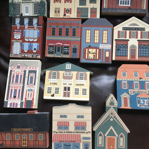 Cat's Meow Houses (About 20 - all pieces shown)